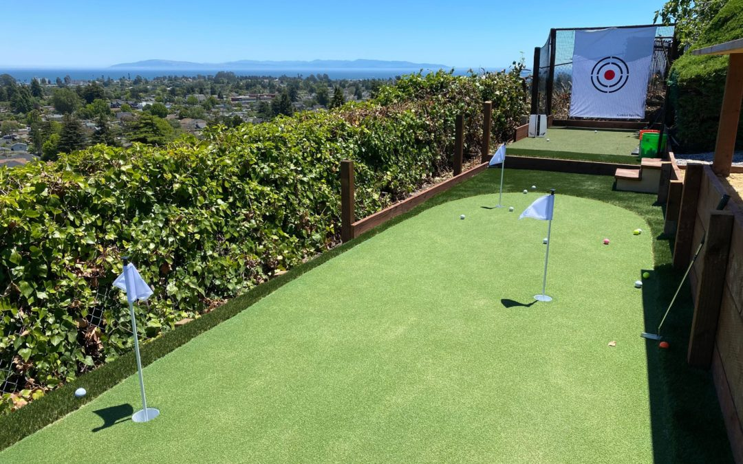 Unconventional Challenges You Can Add to Your Backyard Putting Green in Tracy
